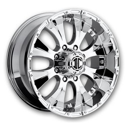 Extreme NX-2 Chrome 22X10 6-139.7 Wheel