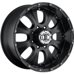 Extreme NX-2 Satin Black 18X9 5-127 Wheel