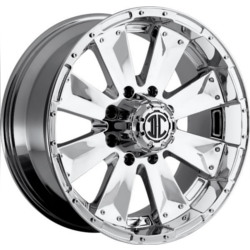 Extreme NX-4 Chrome 20X9 6-139.7 Wheel