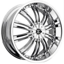 2 Crave No.1 Chrome 20X9 5-115 Wheel