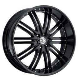 2 Crave No.11 Satin Black 22X10 5-120.7 Wheel