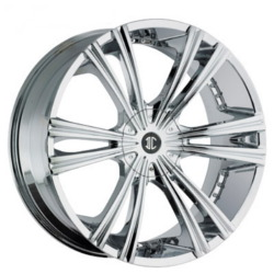 2 Crave No.12 Chrome 24X10 6-139.7 Wheel