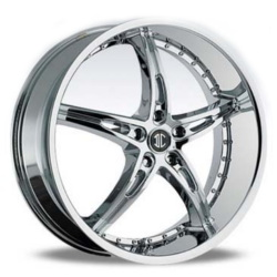 Black Diamond No.14 Chrome 22X9 5-110 Wheel
