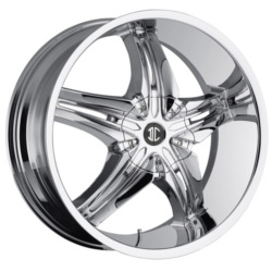 Fiero No.15 Chrome 24X10 5-115 Wheel