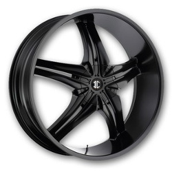 Fiero No.15 Satin Black 24X10 5-127 Wheel