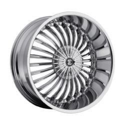 2 Crave No.19 Chrome Wheel