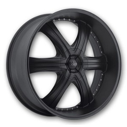 Black Diamond No.4 Satin Black 22X10 5-120 Wheel