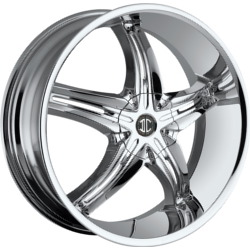 Fiero No.5 Chrome 20X8 5-115 Wheel