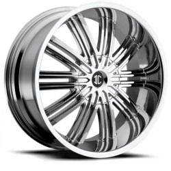 Fiero No.7 Chrome 20X10 6-135 Wheel