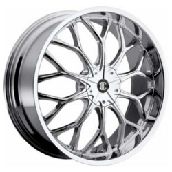 2 Crave No.9 Chrome 22X8 5-108 Wheel