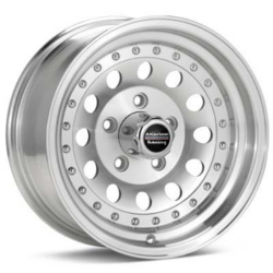 American Racing OUTLAW II Machined With Clear Coat 15X7 5-114.3 Wheel