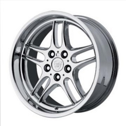Wheel Replicas PARALLEL SPOKE Chrome 18X10 5-120 Wheel