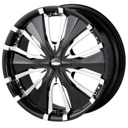 Ace PASSION Black 18X8 5-110 Wheel