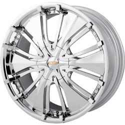 Ace PASSION Chrome 18X8 5-100 Wheel