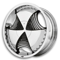 Envy PELLE Chrome 22X9 5-120 Wheel