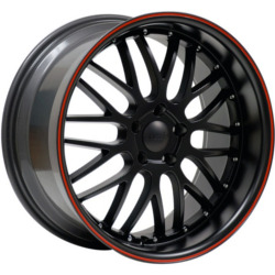 Axis PENTA Matte Black 19X11 5-130 Wheel