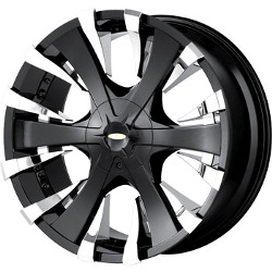 Baccarat PHANG Black 22X10 6-139.7 Wheel