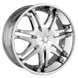 American Racing Hot Rod PHANTOM Chrome 22X10 5-127 Wheel
