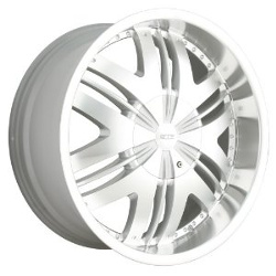 DIP PHOENIX Hypersilver/Machined 22X10 5-150 Wheel