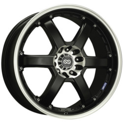 Enkei PKR Black 17X7 4-108 Wheel