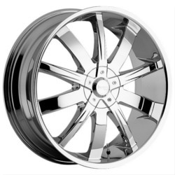 DIP POISON Chrome Wheel
