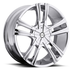 Strada PRIMO Chrome 22X9 5-127 Wheel