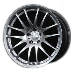 Volk Racing PROGRESSIVE ME Mercury Silver 18X10 5-120 Wheel