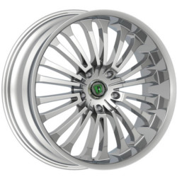Phino PW-108 BLISS Chrome 20X9 5-120 Wheel