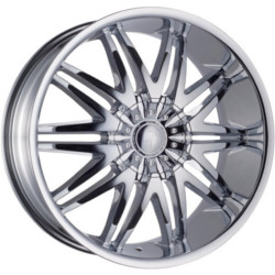 Phino PW-48 REVELATION Chrome 22X10 6-139.7 Wheel