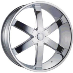 Phino PW-58-SIXER Chrome 24X10 6-135 Wheel