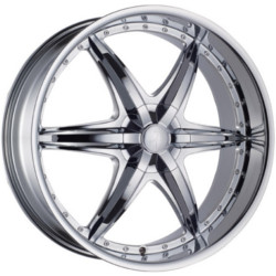 Phino PW-78 BASSLINE Chrome 24X10 5-120 Wheel
