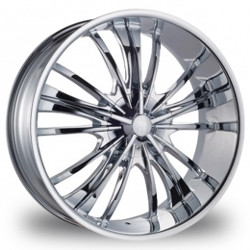 Phino PW-88 CRUGER Chrome 24X10 5-127 Wheel