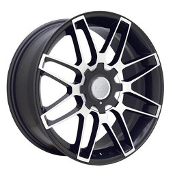Ace RADIUM Gunmetal 19X8 4-100 Wheel