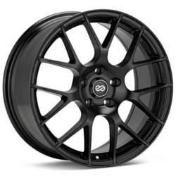 Enkei RAIJIN Black 18X10 5-120 Wheel