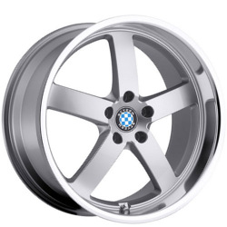 Beyern RAPP Silver W/Mirror Cut Lip 18X10 5-120 Wheel