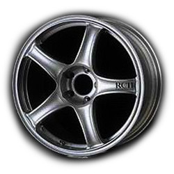 Advan RC2 Silver 17X8 5-114.3 Wheel