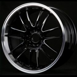 Volk Racing RE30 Black Machine 19X9 5-114.3 Wheel