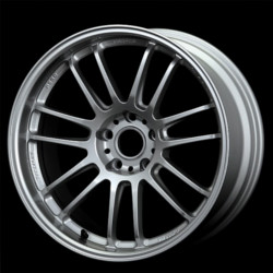 Volk Racing RE30 Silver 18X9 5-120 Wheel