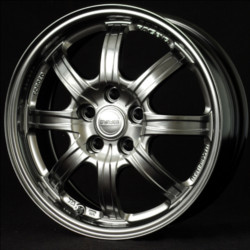 Volk Racing RE30 SUPER ECO Formula Silver 16X7 4-100 Wheel