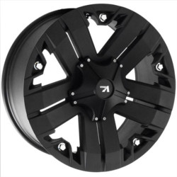 V-Rock RECON Matte Black 17X9 5-127 Wheel