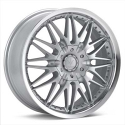 Verde REGENCY Silver/Machined Lip 17X8 5-112 Wheel