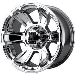 KMC-XD Series REVOLVER Chrome 20X10 8-170 Wheel