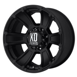 KMC-XD Series REVOLVER Matte Black 20X10 8-165.1 Wheel