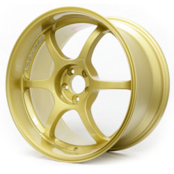 Advan RG-D Gold 18X9 5-114.3 Wheel
