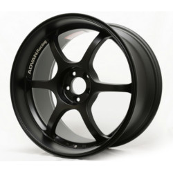 Advan RG-D Matte Black 17X9 5-114.3 Wheel