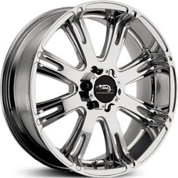 Dale Earnhardt Jr RIBELLE Bright Pvd 20X9 8-170 Wheel