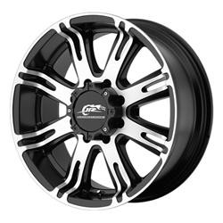 Dale Earnhardt Jr RIBELLE Matte Black With Machined Face 22X10 6-139.7 Wheel