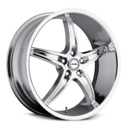 Strada RIGA Chrome 22X9 5-115 Wheel