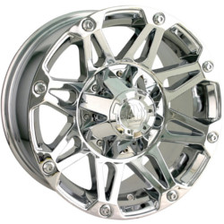 Mayhem RIOT Chrome 17X8 5-139.7 Wheel