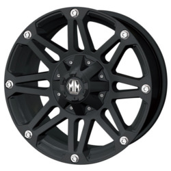 Mayhem RIOT Matte Black 18X9 6-139.7 Wheel